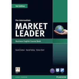Cotton David: Market Leader 3rd Edition Pre-Intermediate Coursebook & DVD-Rom Pack