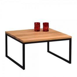 Artenat Konferenční stolek Jessica nízký, 60 cm, masiv divoký dub