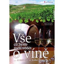 Burešová Pavla, Pavloušek Pavel: Vše, co byste měli vědět o víně....a nemáte se koho zeptat
