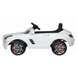 Elektrické auto Mercedes-Benz SLS AMG bílé