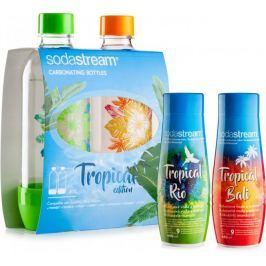 Sodastream Sada 2ks láhví Tropical Edition Prales + Příchutě Ananas-Kokos a Mango-Kokos