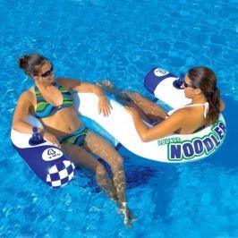 KWIKTEK Sedačka vodní nafukovací pro 2 osoby Noodler 2 Lounge