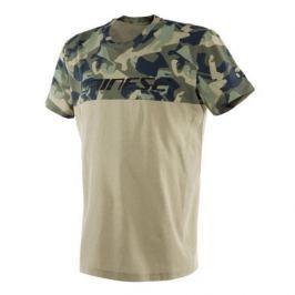 Dainese pánské triko CAMO-TRACKS vel.M army