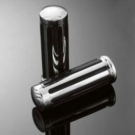 Highway-Hawk gripy 25mm  LEGEND, chrom/černá (2ks)