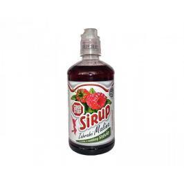 CukrStop sirup se sladidly z rostliny stévie - příchuť malina