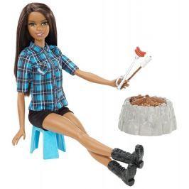 Mattel Barbie Panenka při ohni brunetka