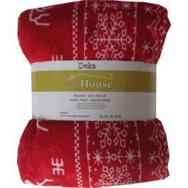 Jahu My House deka micro sob red 150x200 cm