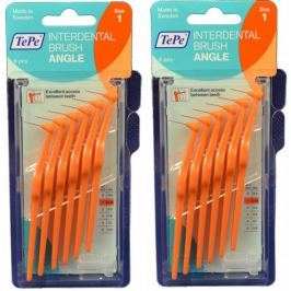 Tepe Mezizubní kartáčky Angle 0,45 mm oranžový 2 x 6 ks