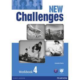 Maris Amanda: New Challenges 4 Workbook & Audio CD Pack