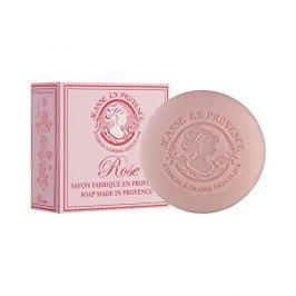 Jeanne En Provence Luxusní hydratační mýdlo s jemnou vůní Okouzlující růže (Rose Soap) 100 g