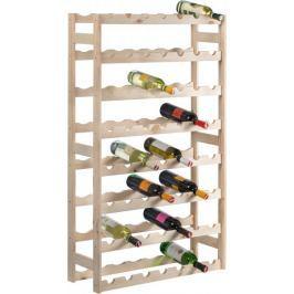 Westside Dřevěný regál na víno (56 lahví)