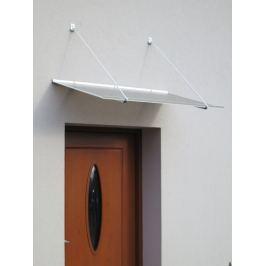 LanitPlast vchodová stříška LANITPLAST SP1 120/70 bílá
