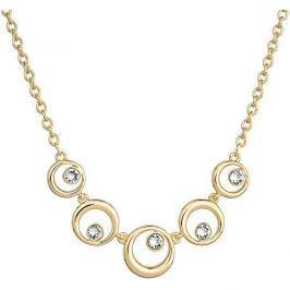 Evolution Group Elegantní pozlacený náhrdelník Shine Luxus 52013.1