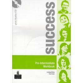 White Lindsay: Success Pre-Intermediate Workbook and CD Pack