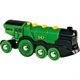Brio WORLD 33593 Velká zelená akční lokomotiva