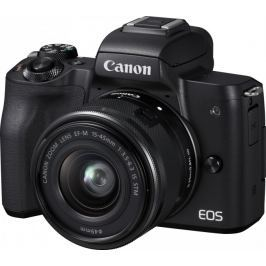 Canon EOS M50 + 15-45, černá - II. jakost