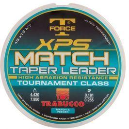 Trabucco Ujímaný Vlasec TF XPS Match Taper Leader 10x15 m Čirý 0,18-0,25 mm, 4,43-7,95 kg