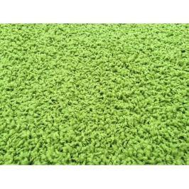 Kusový koberec Color Shaggy zelený, průměr 120 cm