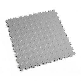 Fortelock Šedá plastová vinylová dlaždice Light 2050 (diamant) - 51 x 51 x 0,7 cm