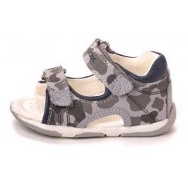 Geox chlapecké sandály Tapuz 19 šedá