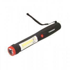 TIROSS Svítilna 1W LED, 2W COB LED, zabudovaný magnet, 4x AAA