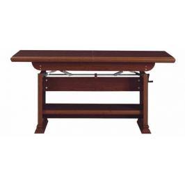 KENT, konferenční stolek ELAST 130/170, kaštan