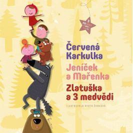 3 pohádky - Červená Karkulka, Jeníček a Mařenka, Zlatuška a 3 medvědi