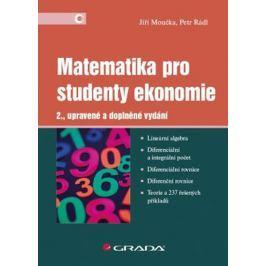 Moučka Jiří: Matematika pro studenty ekonomie