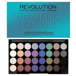 Makeup Revolution Paletka 32 očních stínů Mermaids Forever