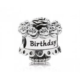 Pandora Stříbrný korálek Happy Birthday 791289 stříbro 925/1000