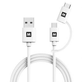 MAX MUC1101W propojovací datový kabel 1m, bílá