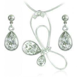 MHM Souprava šperků Debia Crystal 34132 stříbro 925/1000