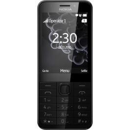 Nokia 230 Single SIM, černá