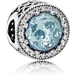 Pandora Luxusní ledově modrý přívěsek 791725NGL stříbro 925/1000