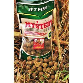 Jet Fish boilie Mystery 1 kg 20 mm frankfurtská klobása/koření