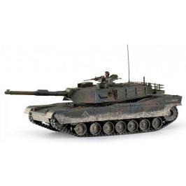 Hobby Engine RC Tank - M1A1 Abrams 1:16, 2.4GHz, patinovaný