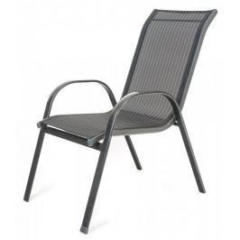 Happy Green Židle RAMADA antracit pruh