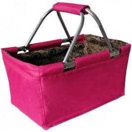 Toro Nákupní skládací košík, růžová (263303)