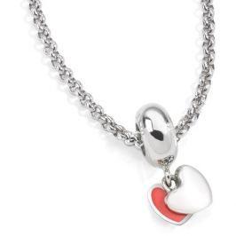 Morellato Ocelový náhrdelník Drops Two Hearts SCZ541