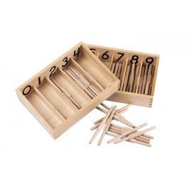 Montessori pomůcky Krabička svřeténky