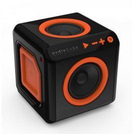 PowerCube audioCube, černá/oranžová - II. jakost