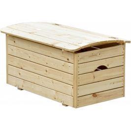 CUBS Dřevěná truhla na hračky