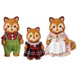 Sylvanian Families Rodina červené pandy 5215