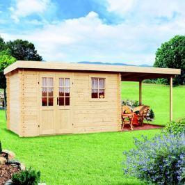 LanitPlast zahradní domek LANITPLAST LEO M1 598 x 250 cm