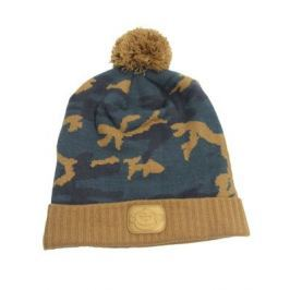 RIDGEMONKEY Kulich Camo Bobble Hat Hnedý
