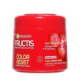 Garnier Posilující maska pro barvené vlasy Fructis (Color Resist Mask) 300 ml