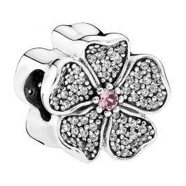 Pandora Třpytivý korálek Jabloňový květ 791831NBP stříbro 925/1000