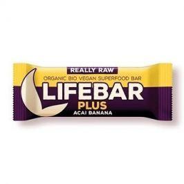 Lifefood Lifebar Plus - açaí s banánem RAW/BIO (47 g)