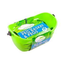 EcoForce Závěsný košík s 24 kolíčky na prádlo