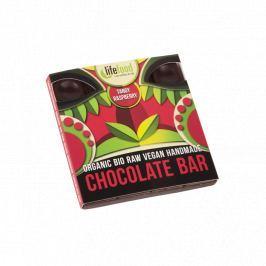 Lifefood Čokoláda malinová RAW & BIO (35 g)